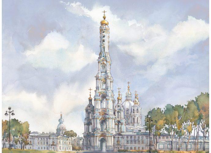Колокольня Смольного собора