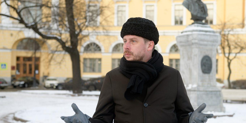 Представитель Фонда содействия строительству культовых сооружений РПЦ в Петербурге Филипп Грибанов.